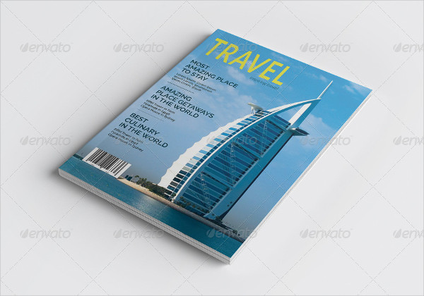 Universal Travel Magazine Template