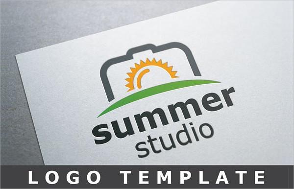 Summer Studio Logo Template