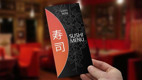 Sushi Menu Templates