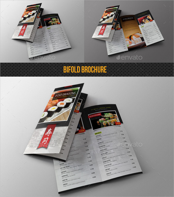Sushi Restaurant Menu Pack
