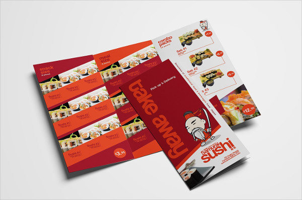 Sushi Restaurant Menu Template Pack for Photoshop