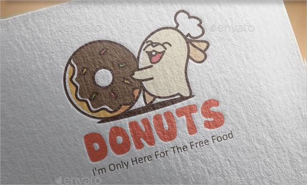 Sweet Donuts Logo Design