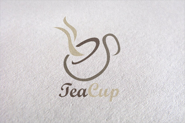 Creative Tea Cup Logo Template