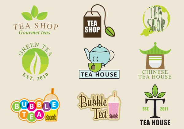 Tea Shop Logos Free Download