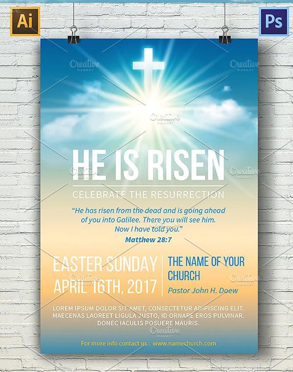 Printable Church Poster Template