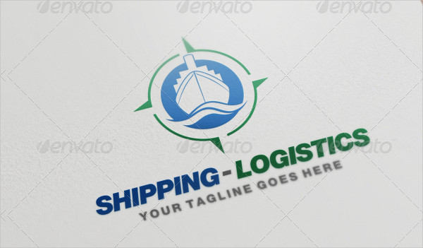 Colorful Shipping or Transportation Logo Template
