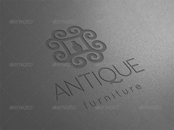 Unique Furniture Logo Template