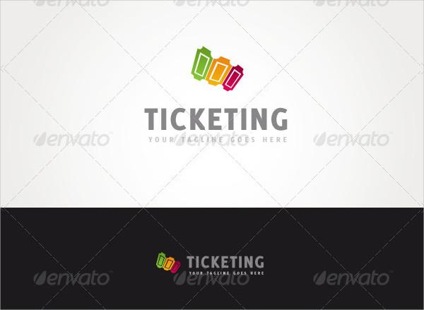 Unique Ticketing Logo Design