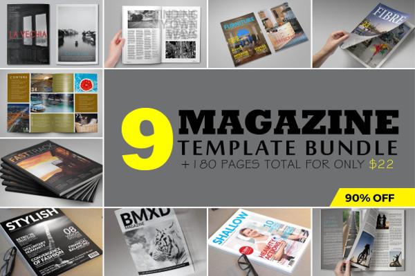 Universal Magazine Templates Collection