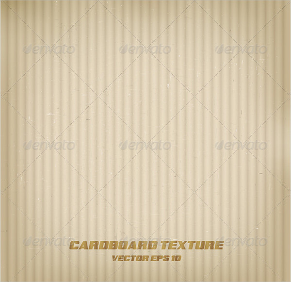 Vector Cardboard Texture