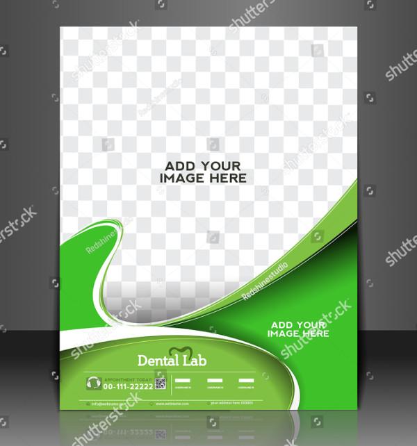 Vector Dental Lab Flyer Template
