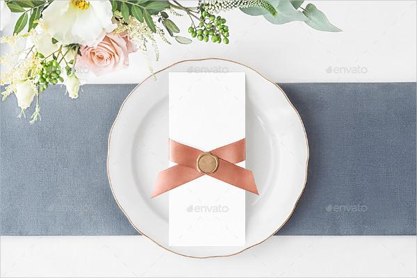 Wedding Day Stationery Mockups