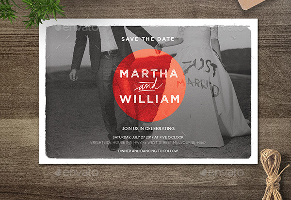 Wedding Invitations with Postcard Response Cards