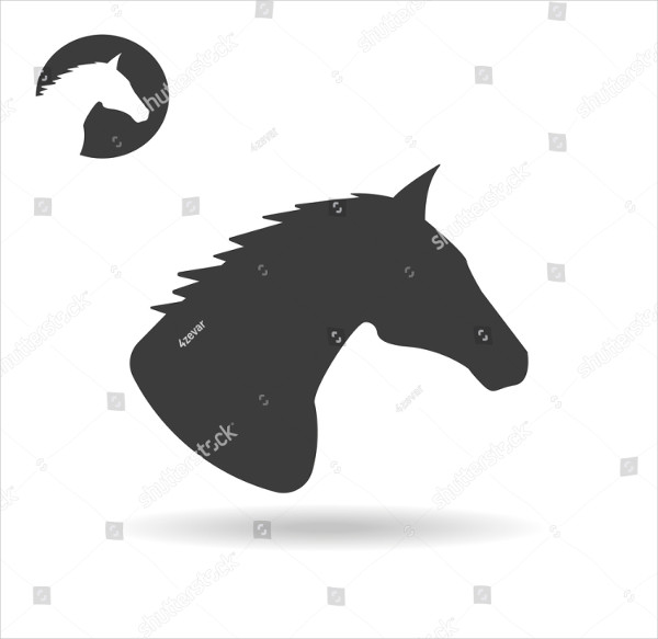 Abstract Horse Icon