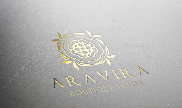 Cool Boutique Hotel Logo Design