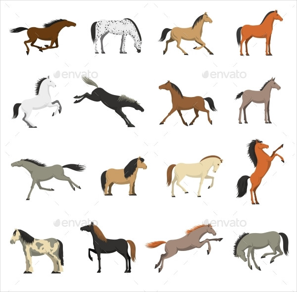 Best Horse Icons Collection