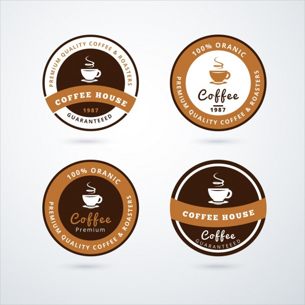 Brand Coffee Shop Logos Collection