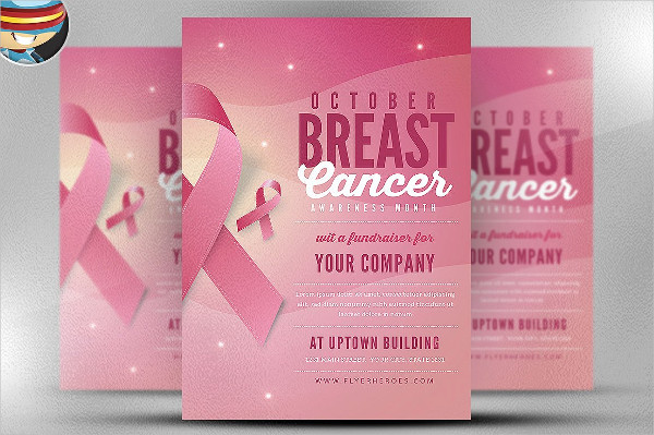 Breast Cancer Awareness Month PSD Flyer Template