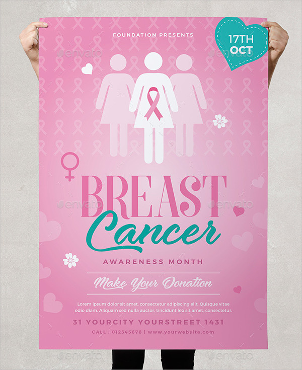 Breast Cancer Benefit Awareness Flyer