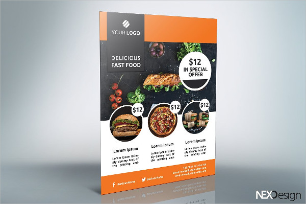 Fast Food Business Flyer Template