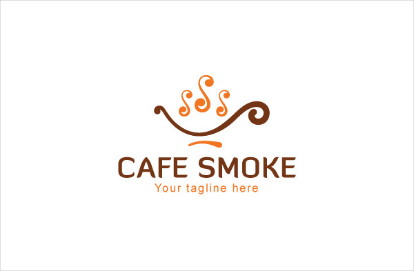 Cafe Smoke Logo Design
