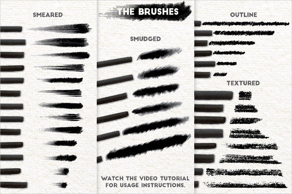 Best Charcoal Brushes Download