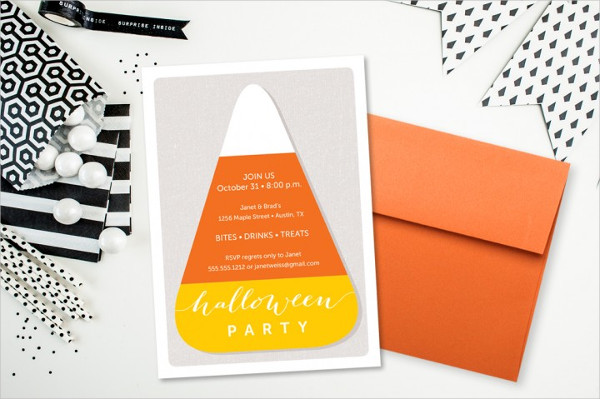 Children's Halloween Party Invitations