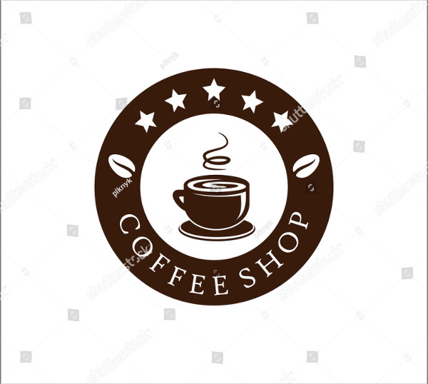 Coffee Shop Logo Vector Illustration
