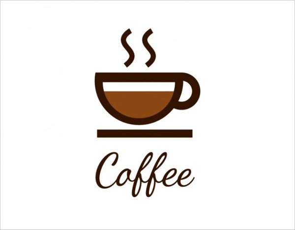 Coffee Logo with Cup Free Vector