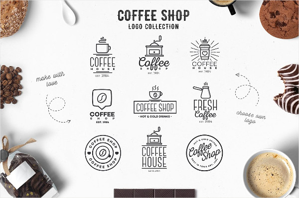 Coffee Shop Logos Collection