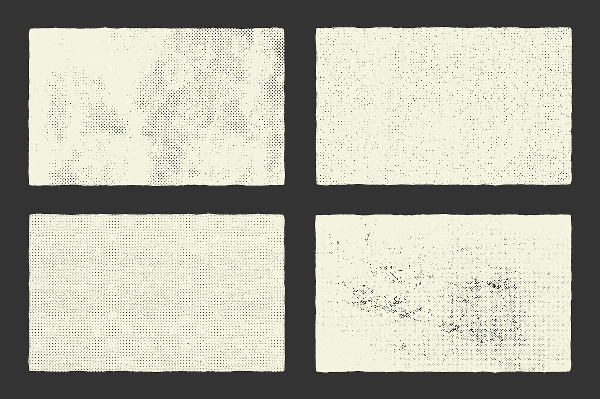 Compitable Halftone Textures
