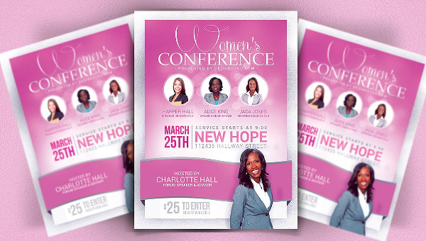 Conference Flyer Template - 29+ Free & Premium Download
