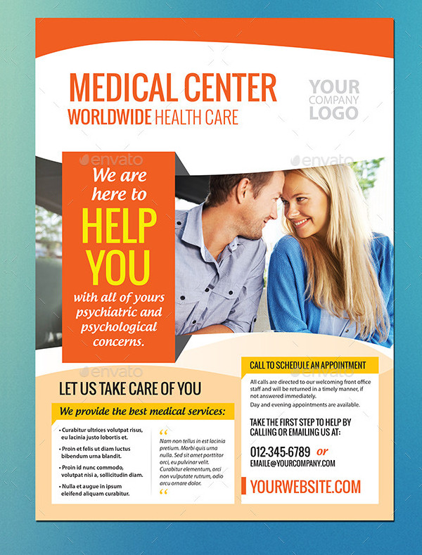 Custom Medical Care Flyer