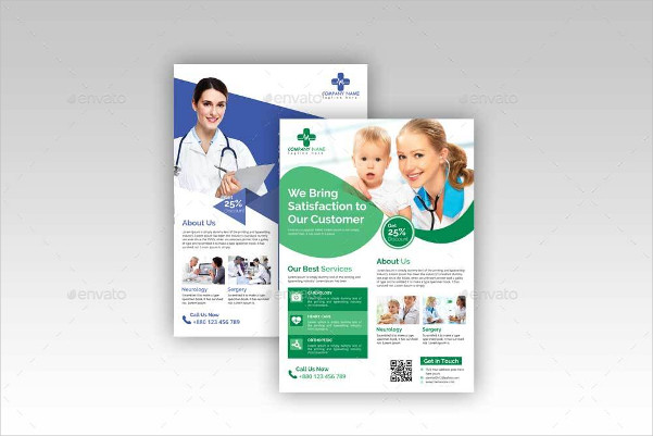 Printable Medical Flyer Template
