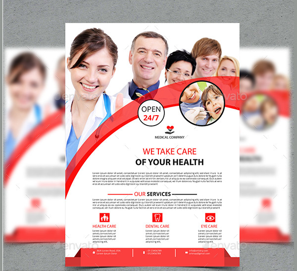 Elegant Medical Promotion Flyer Template