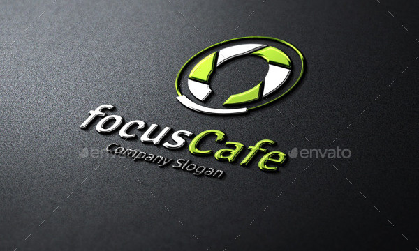 Focus Cafe Logo Design