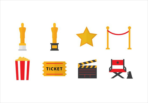 Free Academy Awards Oscar Icons
