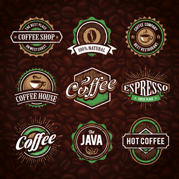 Free Coffee Shop Logo Templates Collection
