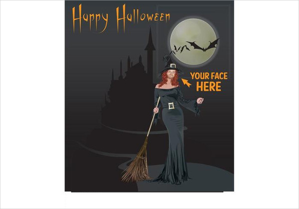 Free Download Halloween Card Template