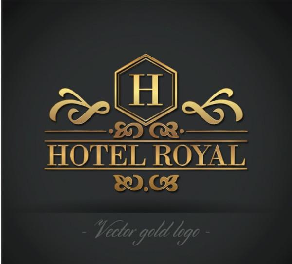 Free Golden Hotel Royal Logo Download
