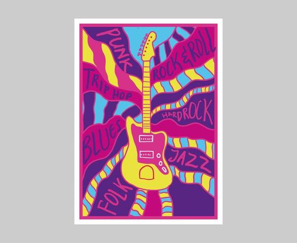 Free Printable Music Posters