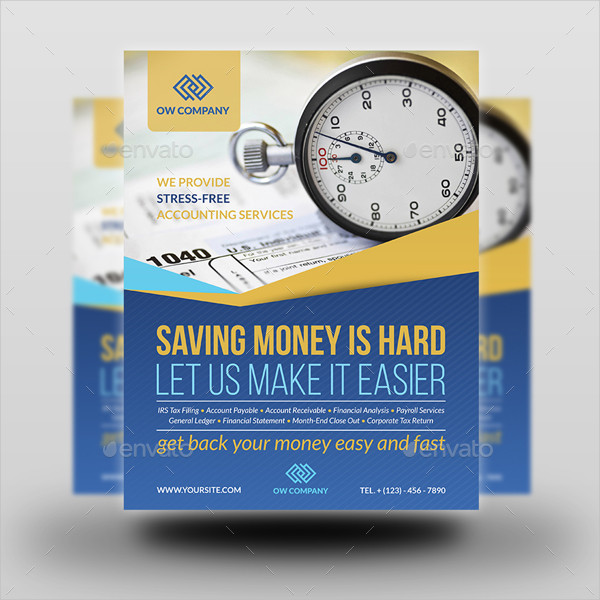 Fully Layered Income Tax & Accounting Flyer