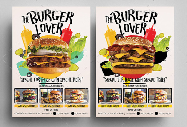 Fun Fast Food Flyer Template