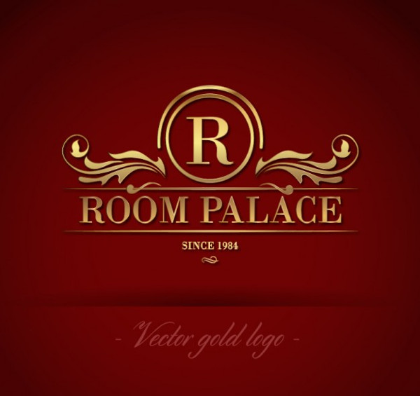 Golden Room Palace Logo Free