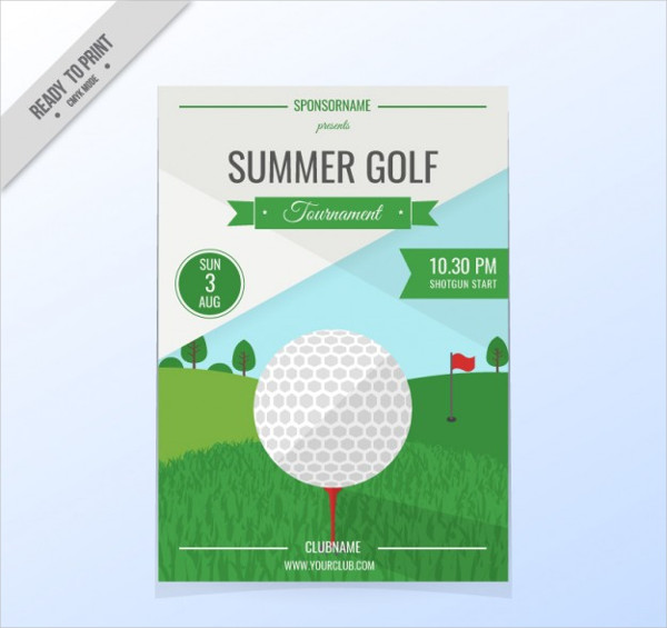 Golf Cup Flyer Free Download