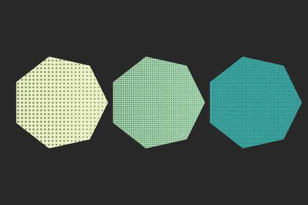 Halftone Design Textures Pack