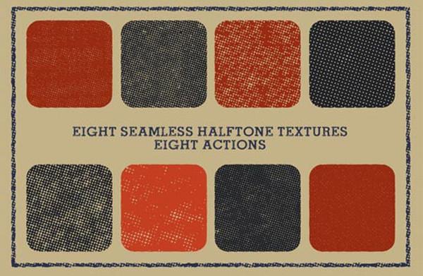 Halftonizer — Vector Texture Actions