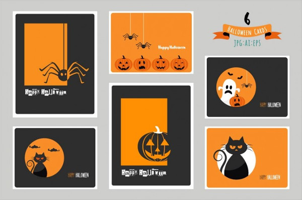 Halloween Cards and Party Invitations
