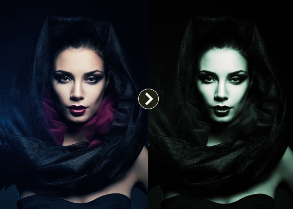 Halloween & Horror Dark Photoshop Actions