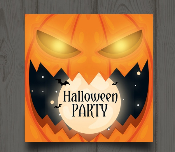 Halloween Party Template Free Download